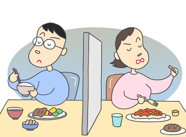 家庭内別居、家庭内離婚